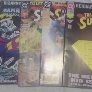 SUPERMAN  COMIC'S!